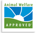 Hedgebrook Farm is Animal Welfare Approved!!!